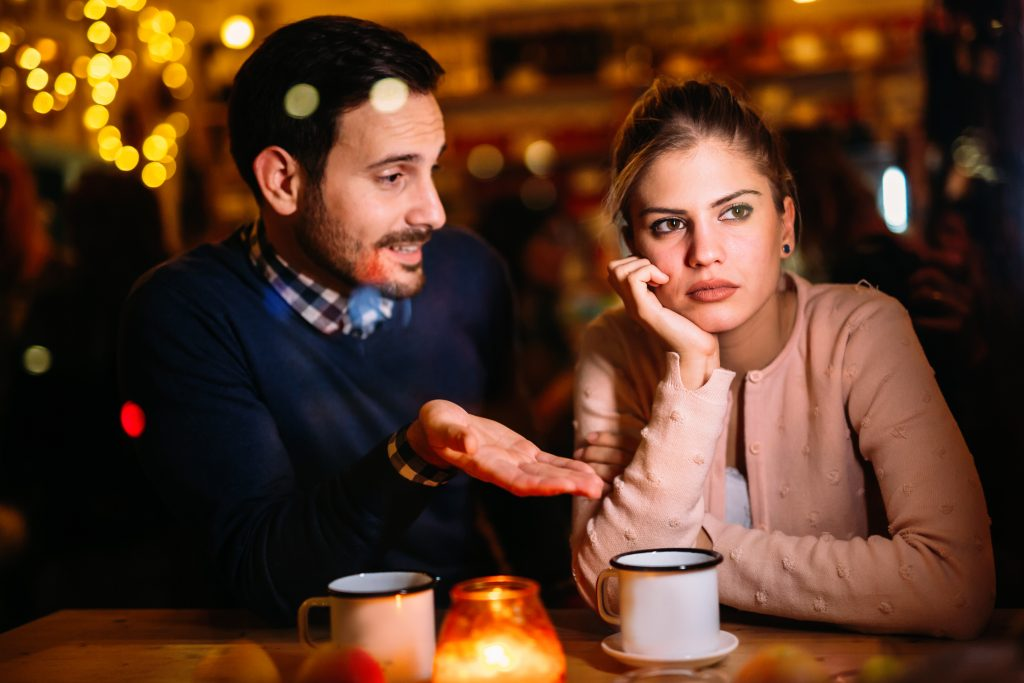 Top 5 Mistakes Men Make on a First Date